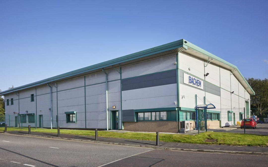Bachem site in St Helens, UK, obtains ISO certification