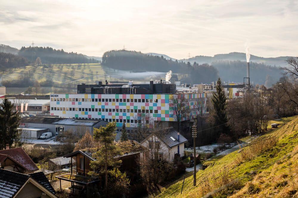 Bachem in Bubendorf Switzerland