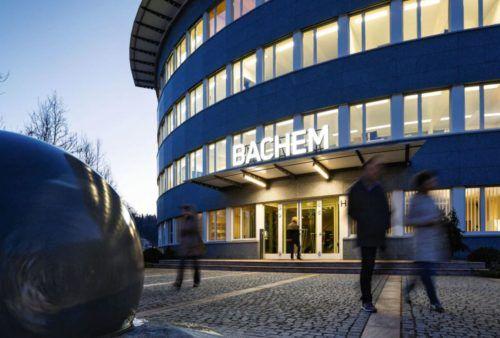 Bachem Office Nighttime