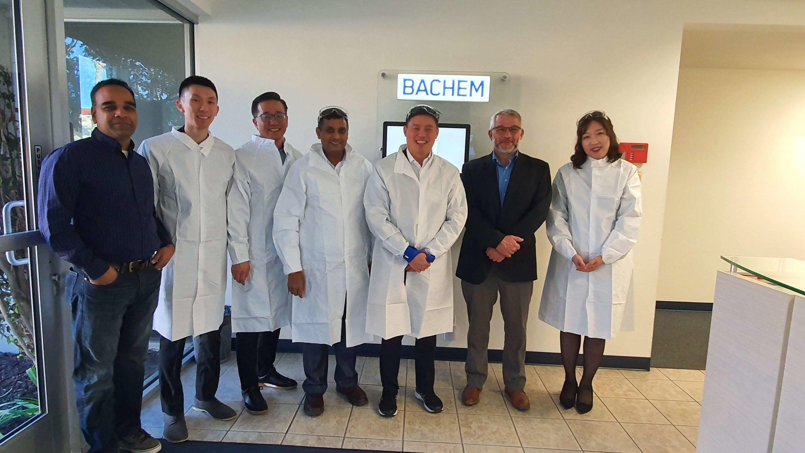 US Group Photo With Yuyu Pharma