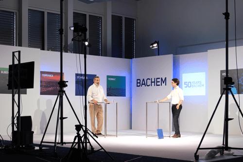 CEO Thomas Meier Celebrating Bachem's 50 Year Anniversary