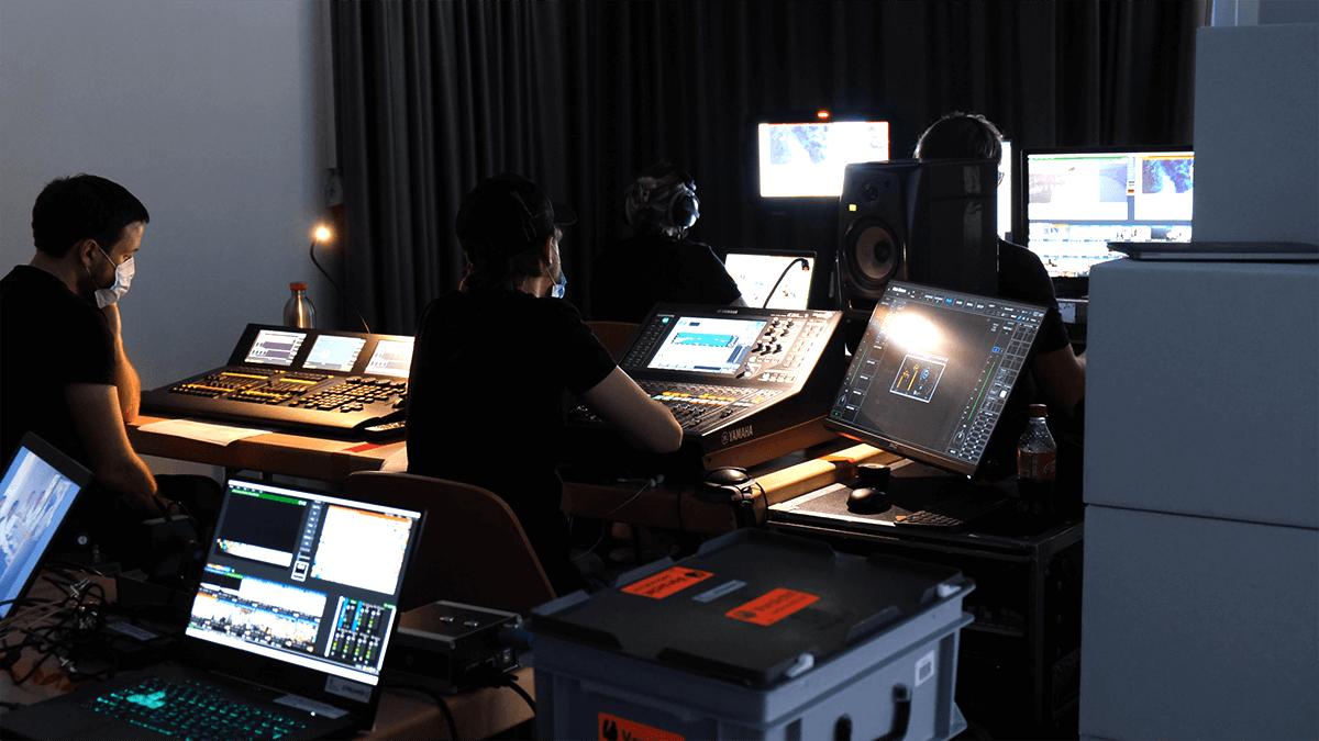 Production Set Up For Bachem 50 Years Celebration