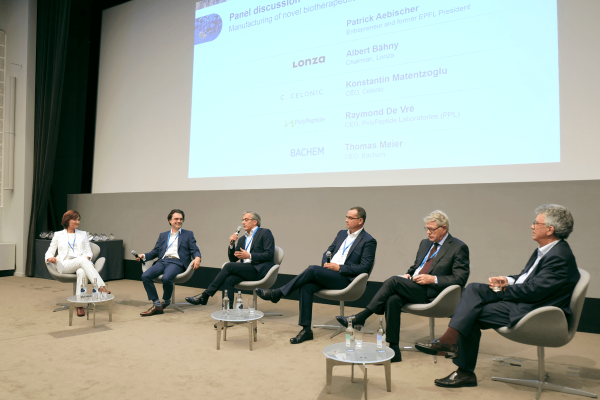 Our CEO Thomas Meier participates in the panel discussion at Swiss Biotech Day 2021